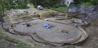 The Foundation Hole, August 21, 2006